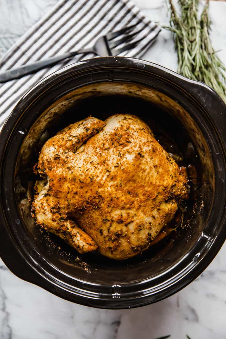 Rosemary Chicken Recipe 2 e1567092199497 - The Most Flavorful FOOLPROOF Slow Cooker Rosemary Chicken Recipe