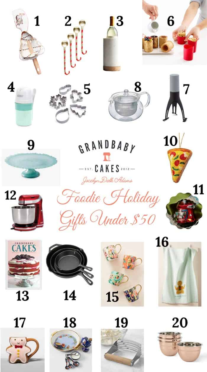 Foodie Gifts Under 50 - GBC Gift Guide: Gifts Under $50!