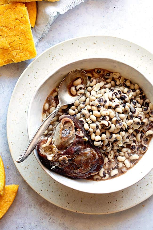 Black Eyed Peas Recipe 1 - Southern Black Eyed Peas Recipe
