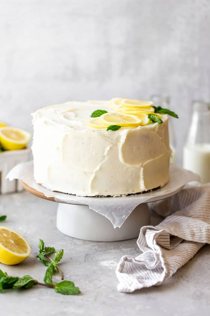 Lemon Layer Cake 1 - Lemon Layer Cake