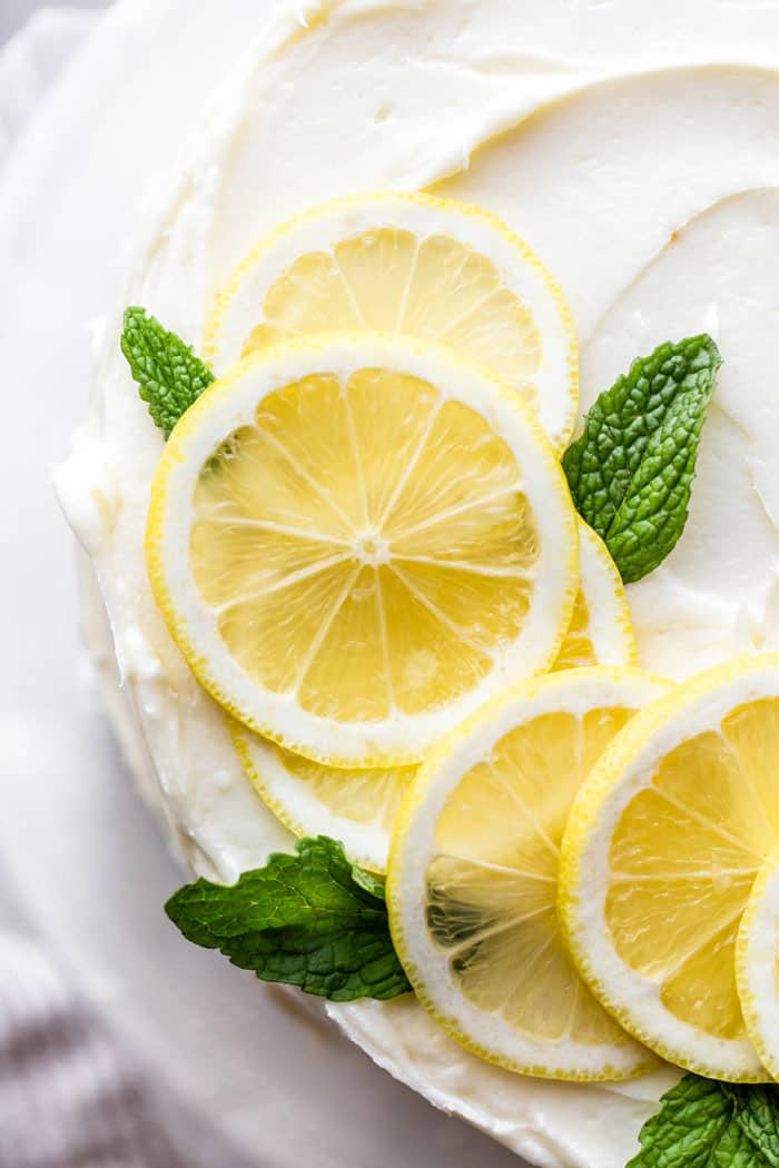 Lemon Layer Cake 2 - Lemon Layer Cake