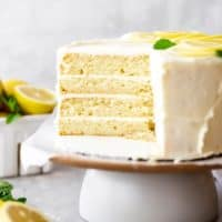 Lemon Layer Cake 3 200x200 - Lemon Layer Cake
