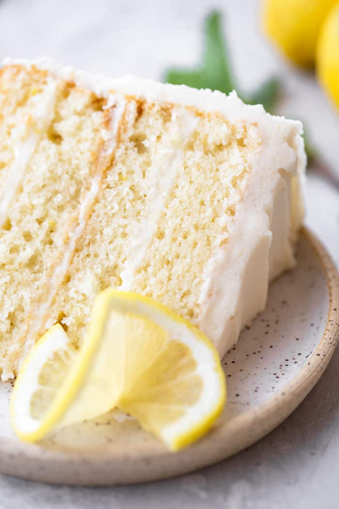 Lemon Layer Cake 4 - Lemon Layer Cake