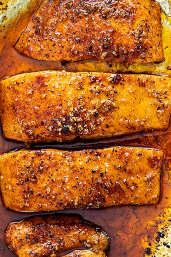 Maple glazed salmon 4 - Maple Glazed Salmon