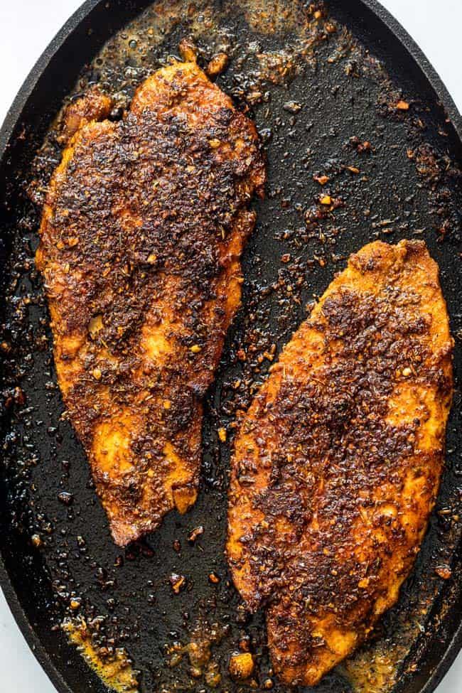 Blackened fish 2 - Blackened Fish Recipe
