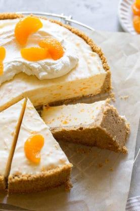Creamsicle Cheesecake 2 277x416 - No-Bake Orange Creamsicle Cheesecake