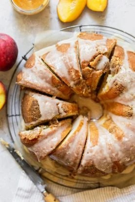 Peach Pound Cake 2 277x416 - Peach Pound Cake