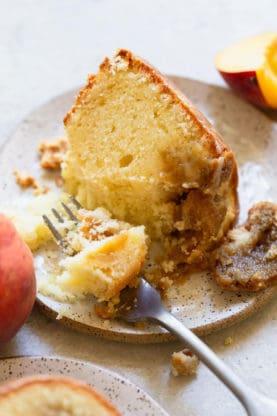 Peach Pound Cake 4 277x416 - Peach Pound Cake