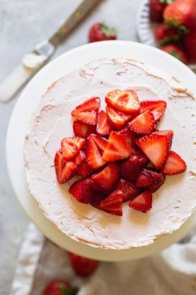 Strawberry Shortcake Cake 1 277x416 - Strawberry Shortcake Cake
