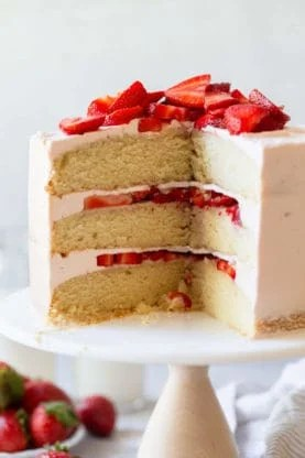 Strawberry Shortcake Cake 3 277x416 - Strawberry Shortcake Cake