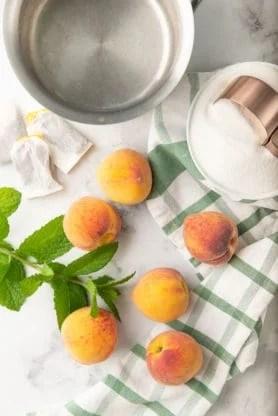 Peach Sweet Tea 1 278x416 - Sweet Peach Tea