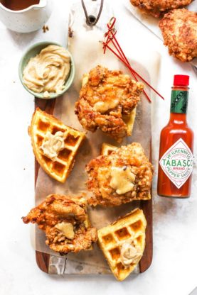 Chicken And Waffle Sliders 4low 277x416 - Chicken and Waffle Sliders