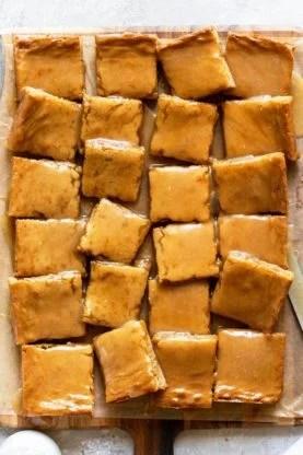 Maple Blondies 4 277x416 - Brown Butter Maple Blondies