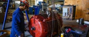 Electric Motor Overhaul – Grand Bahama Shipyard