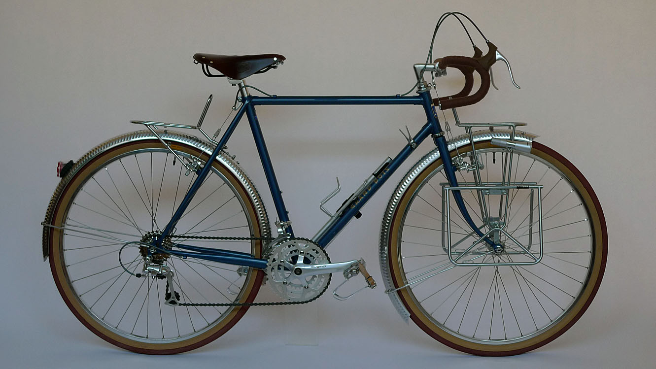 Type E/ 650B Randonneur/ Mr.Tomita from Gifu/ 2010.11.20