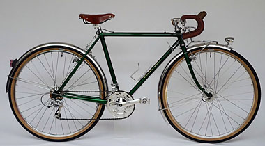 Type E/ 650B Randonneur/ Ms.Morimura from Nara/ 2012.8.5