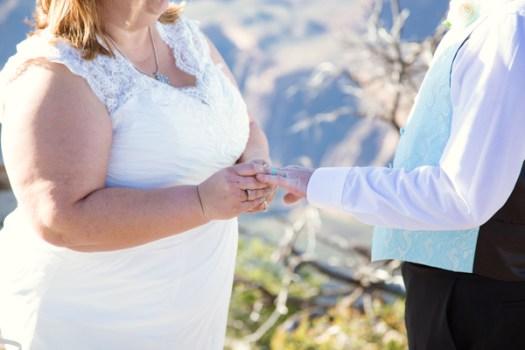 grand canyon wedding rings