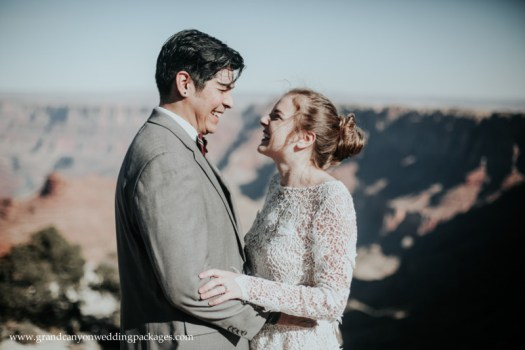 Grand Canyon Wedding Packages at Lipan Point