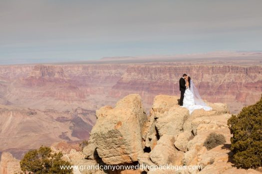 Grand Canyon Wedding Packages Fall Elopement Lipan Point
