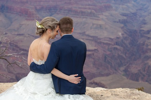 grand canyon wedding locations grandeur point
