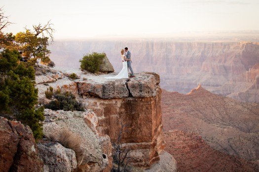 grand canyon wedding locations lipan point