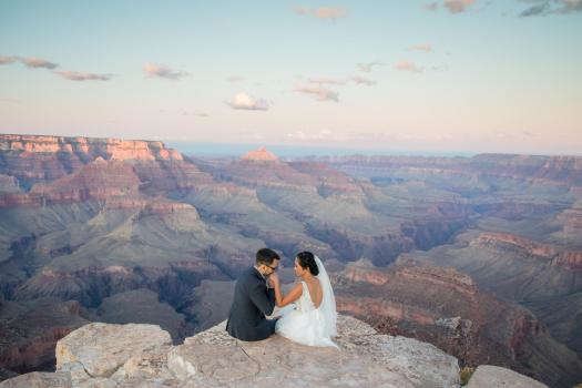 grand canyon wedding locations shoshone point
