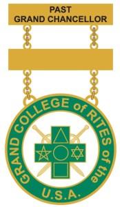 Grand College of Rites - Past Grand Chancellor Jewel