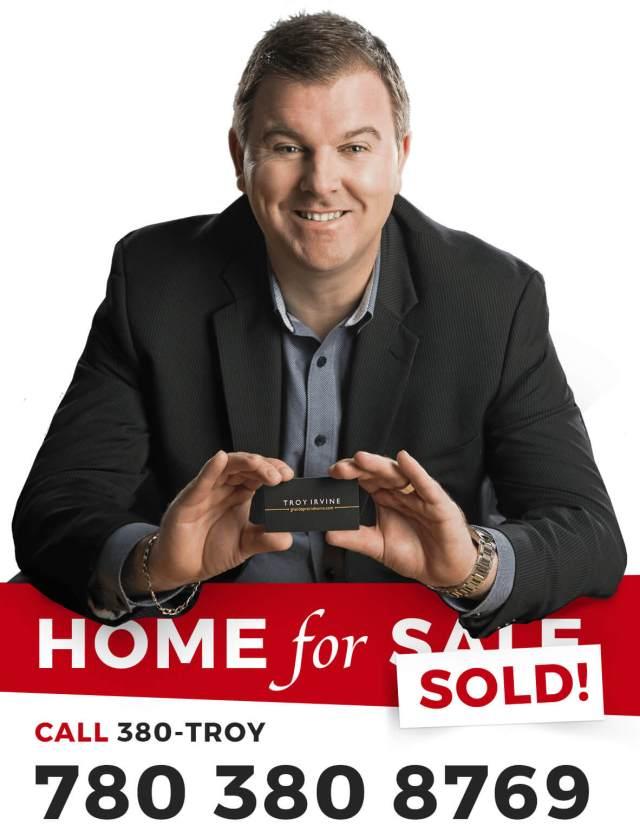 Troy Irvine Grande Prairie Home for Sale