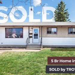 Grande Prairie Hillside Home Sold