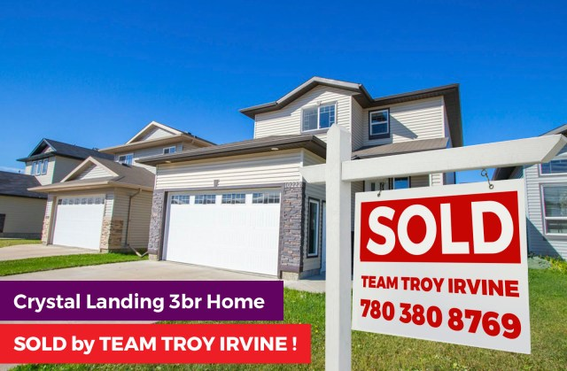 Crystal Landing 3Br Home SOLD by Team Troy Irvine