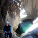 le premier rappel du canyon de Fleur Jaune