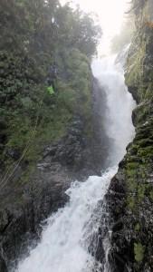 La premiere portion du canyon de Cap blanc