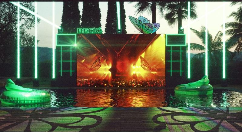Cerveja oficial da Tomorrowland, Beck?s convida brasileiros a curtirem o festival dentro de casa