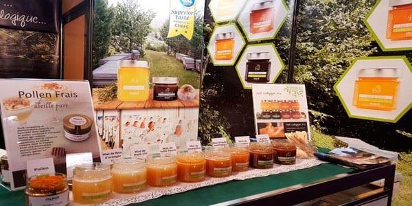 miel ecológica cruda