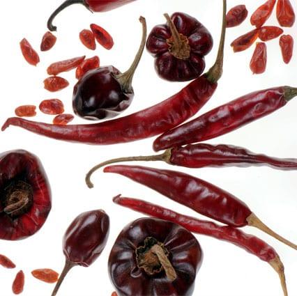 Chiles y sus sabores explosivos