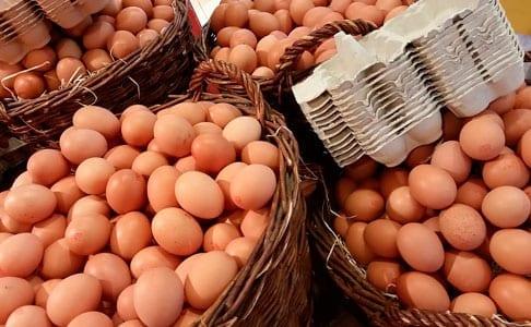 compra de huevos