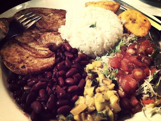 gastronomía de Costa Rica