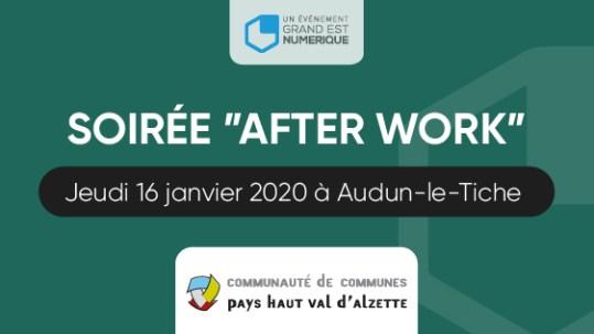 Visuel After Work Audun-le-Tiche