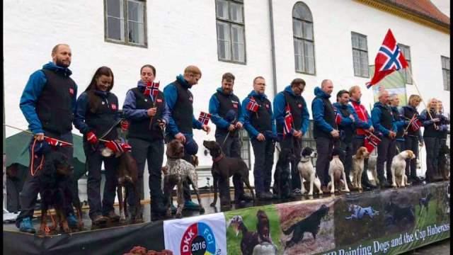Da er vi i VM for stående fuglehunder 2016