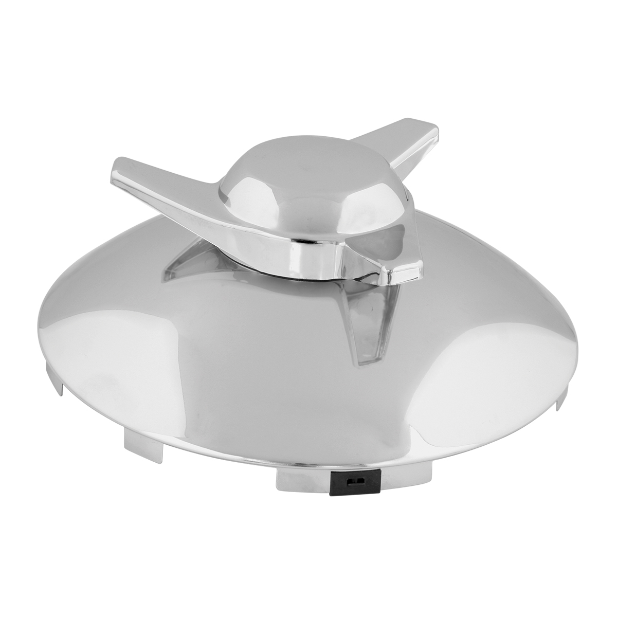 "Universal ⁷∕₁₆"" Front Hub Caps Notched with R/H Swept Wing Spinner"