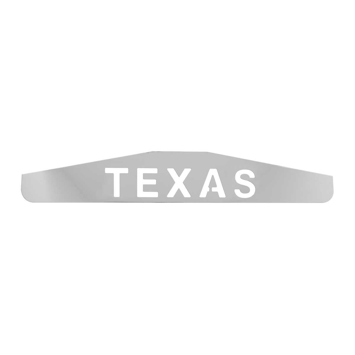 "Bottom Maud Flap Plate with ""Texas"" Script"