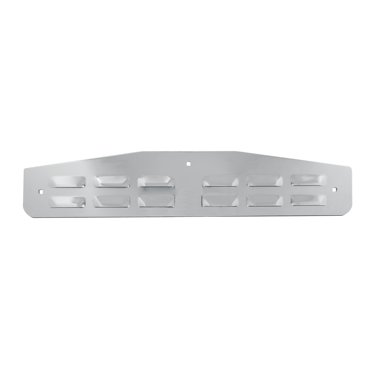 Flat Louver Style Bottom Mud Flap Plate