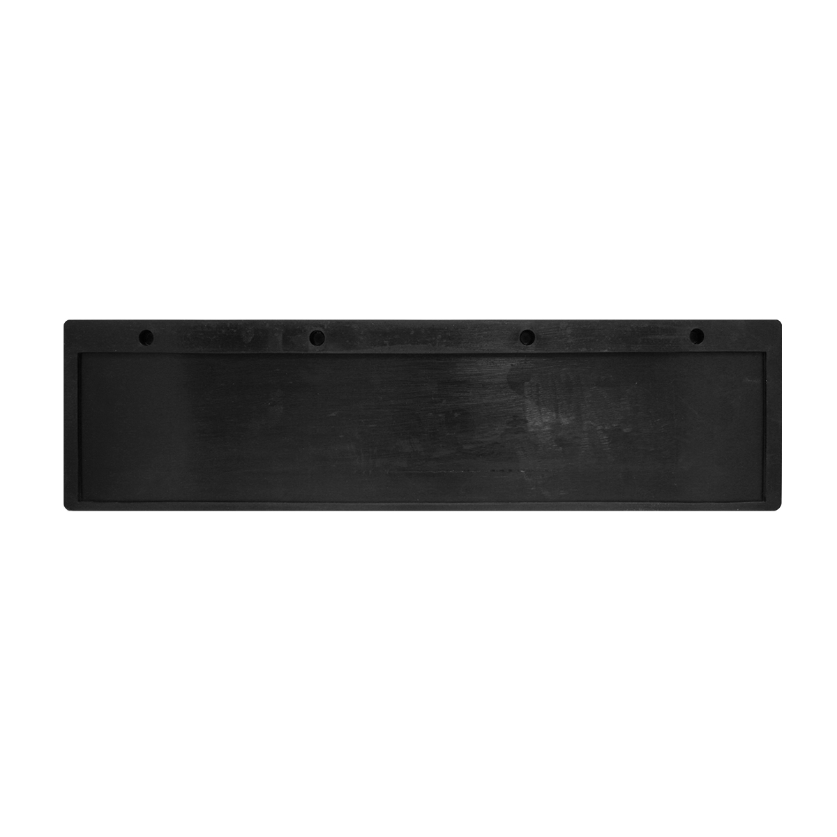 30580 Black Rubber Top Mud Flap