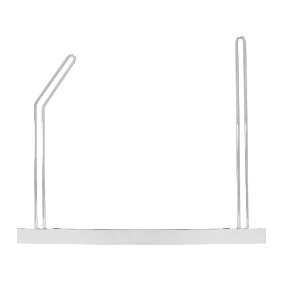 "Chrome Adjustable Angled Mud Flap Holder – 24"" (W) x 18"" (H)"