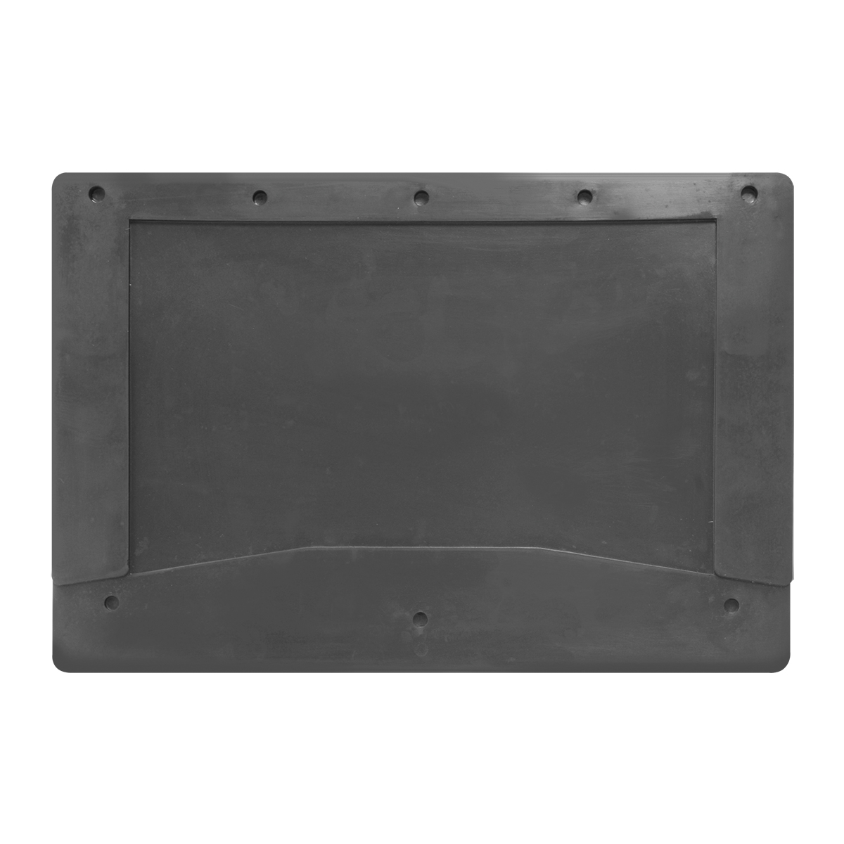 "Plain Black Mud Flap 12"" (W) x 18"" (H) - Pair"