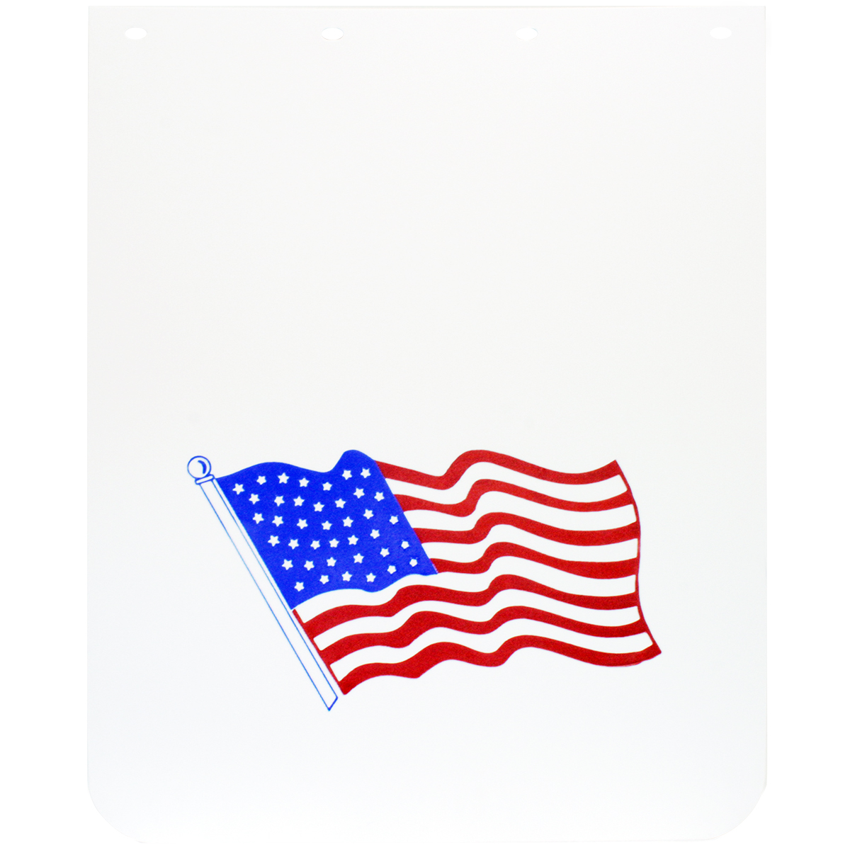 American Flag Poly Mud Flap
