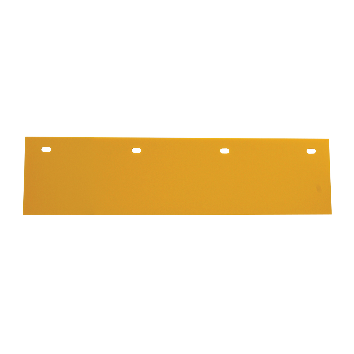 Poly Top Mud Flap – Yellow