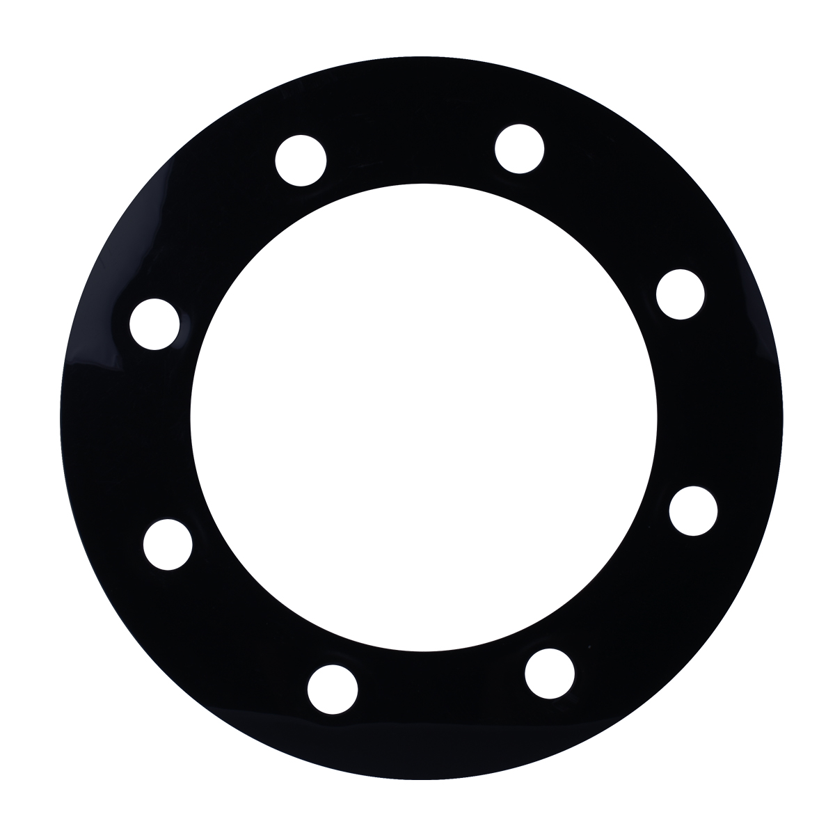 Grand General 68217 Clear Plastic Rim with Visor for 4 Inch 3 Screws Turn Light 1 Pack