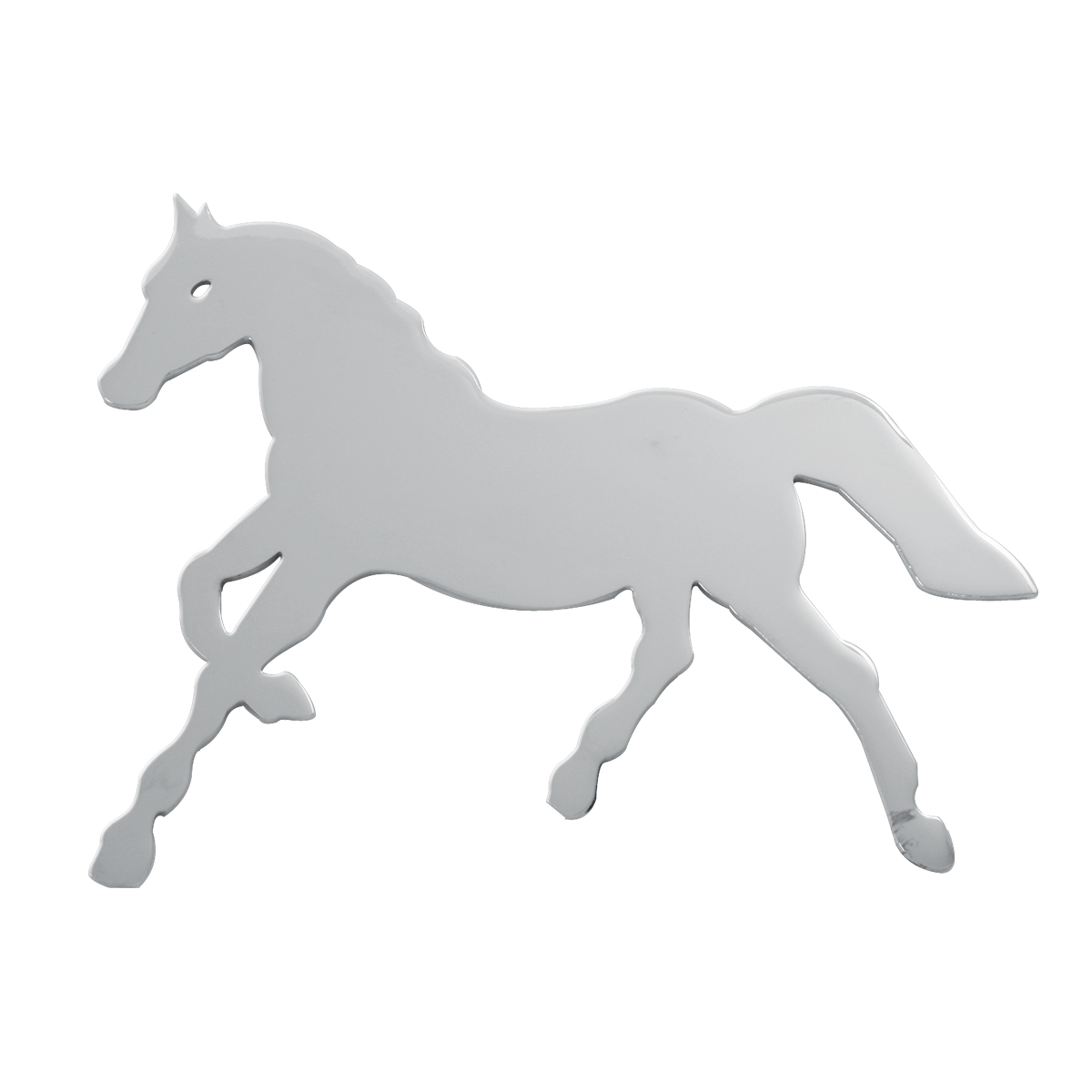 Small Horse Cut Out Facing Left – Studs on Back