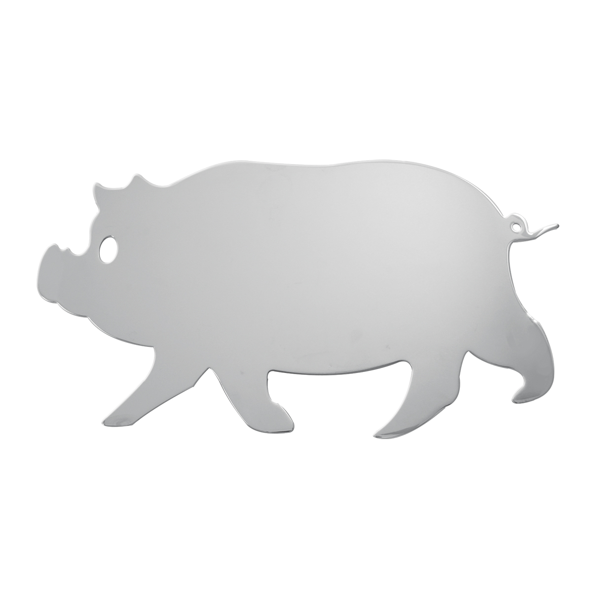 #94070 Large Pig Cut Out with Studs - Facing Left